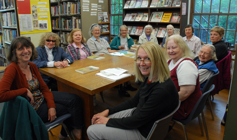 Book Club with author Marcy Alancraig